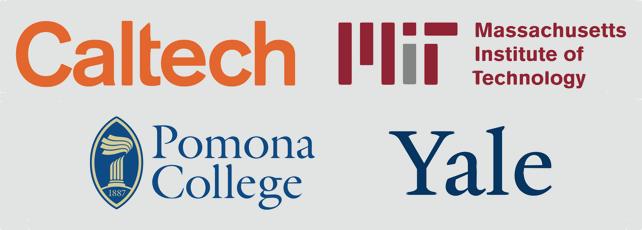 Caltech + MIT + Pomona + Yale
